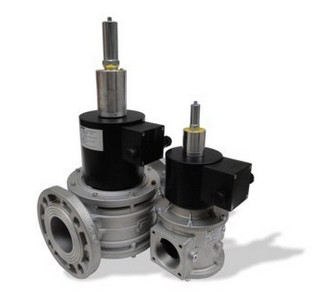 Plynové ventily automatické snáběhem