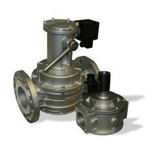 Plynové ventily automatické sručním ovládáním